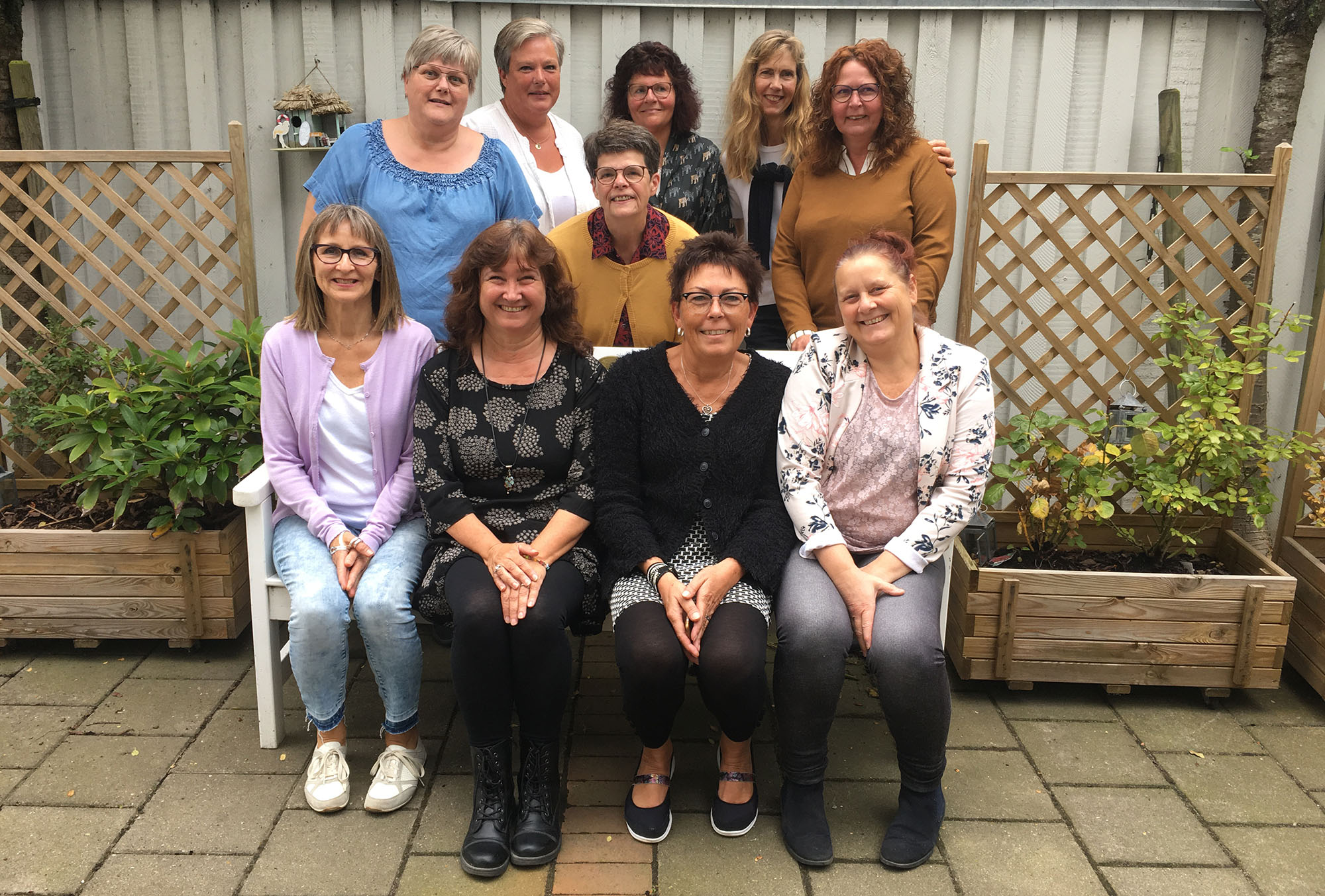 Welcome to the Danish Fibromyalgia Association! We have many dedicated members all of over Denmark! Here's a photo of some of them!